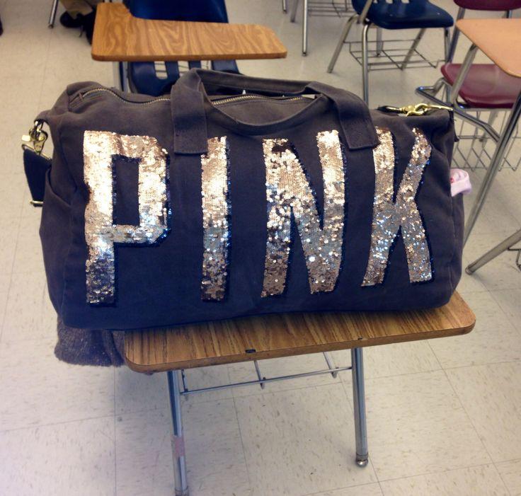 Classic PINK Duffle Bag by Victoria's Secret