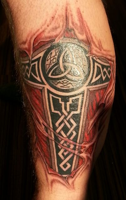 Tattoo-Foto: thors hammer