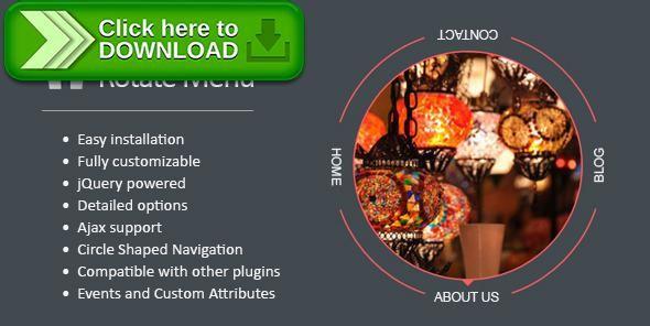 [ThemeForest]Free nulled download Hubeleke jQuery Circle Rotate Menu from http://zippyfile.download/f.php?id=45850 Tags: ecommerce, ajax menu, circle, circle menu, css3 menu, html5 menu, jquery menu, menu rotation, rotate, rotate menu, rotate navigation, rotating, rotating menu, SVG menu