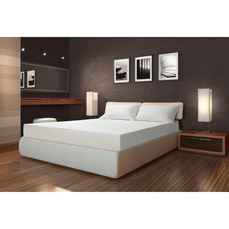 sarah peyton soft support 10inch queen size memory foam mattress and bonus pillow set 10inch soft support memory foam queensize mattress