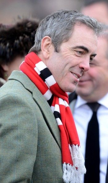 14th March, 2013: Actor James Nesbitt at the third day of the Cheltenham Festival meeting.