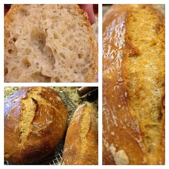 """#bread 80/10/10 white/whole wheat/rye 86% hydration (which was a combo of water, a """"pony"""" sized Budweiser, and a little bit of watermelon juice which I added on a whim). My wife said, """"I can't stop with just one piece!"""" Music to my ears."""