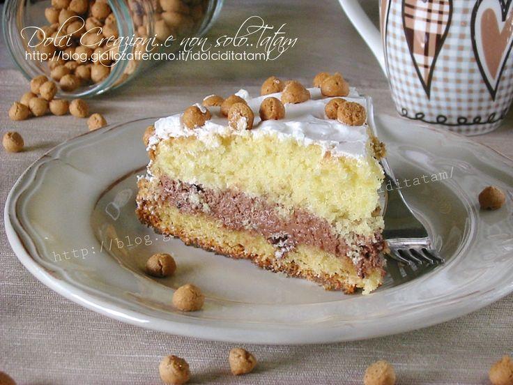torta morbida farcita con nutella
