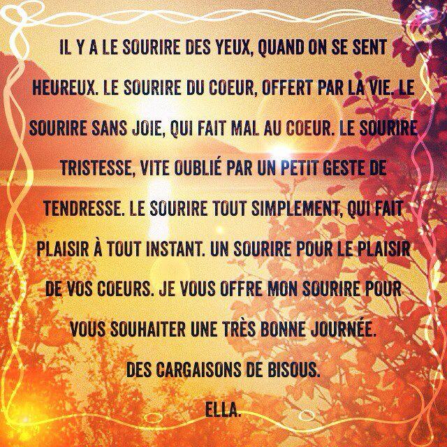 ❤☆~Ella~☆❤  #citations #proverbe#citation #picture #beautiful #bonheur #sagesse #tristesse #Love #twitter #Facebook #Yahoo #google #googleplay #google+ #solitude #couple #amant #rupture #ado #amitié #lesplusbellescitations #Skyrock #Communauté #abonnez #harmonie #paix #peace #funny #lol #doctissimo #psychologie #santé #amour #rencontres #tchat #blog #intime #poème #ange #angel