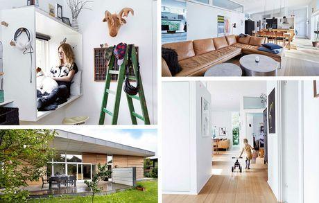 Arkitekttegnet hus med fleksibilitet