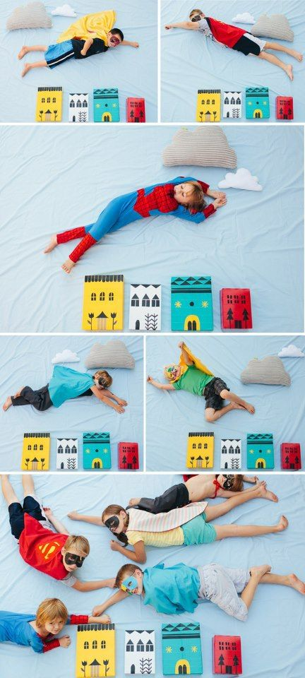 Some days I really do miss not being in the classroom; especially when I see lots of superhero ideas (by far my favourite topic)... How fantastic are these photos!?