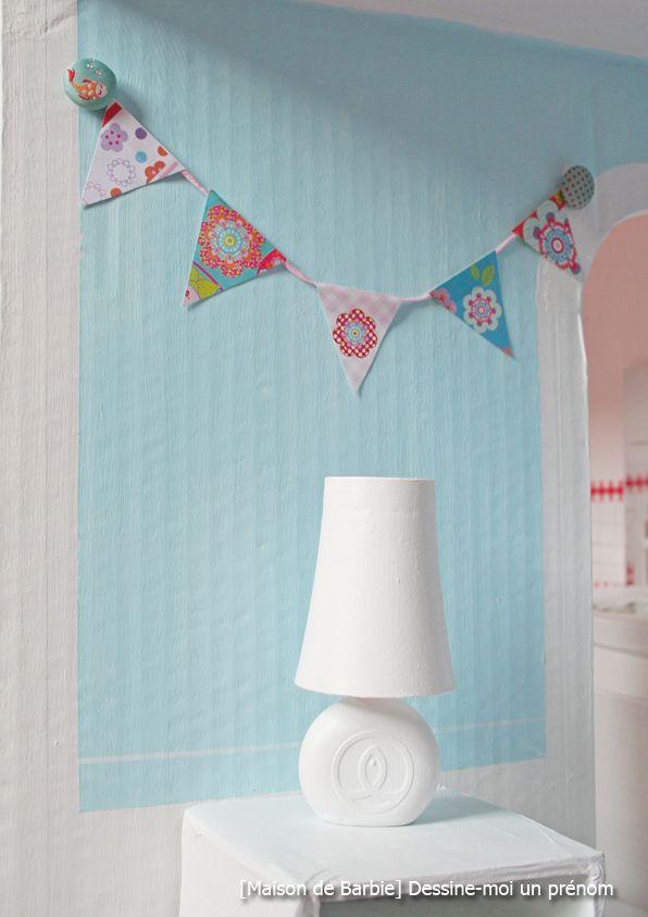 diy tutoriel fabriquer maison de barbie lampe miniatures. Black Bedroom Furniture Sets. Home Design Ideas