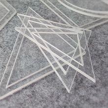 Hot 54 pz misto trapunta modelli acrilico diy strumenti per il patchwork quilter 1 set(China (Mainland))