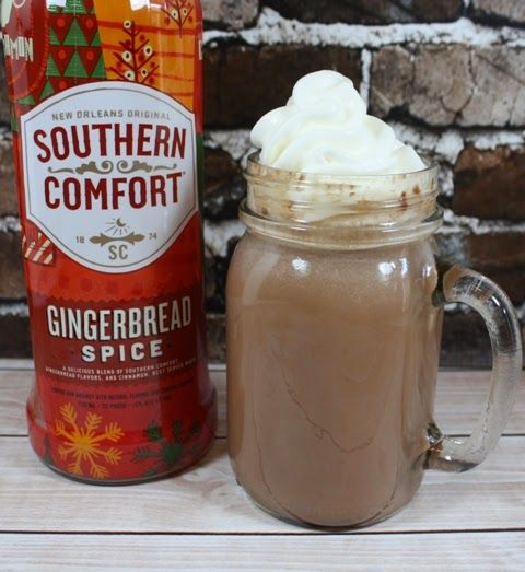 Hot Chocolate for Grownups with Southern Comfort Gingerbread Spice http://www.weidknecht.com/2014/10/hot-chocolate-for-grownups-with.html