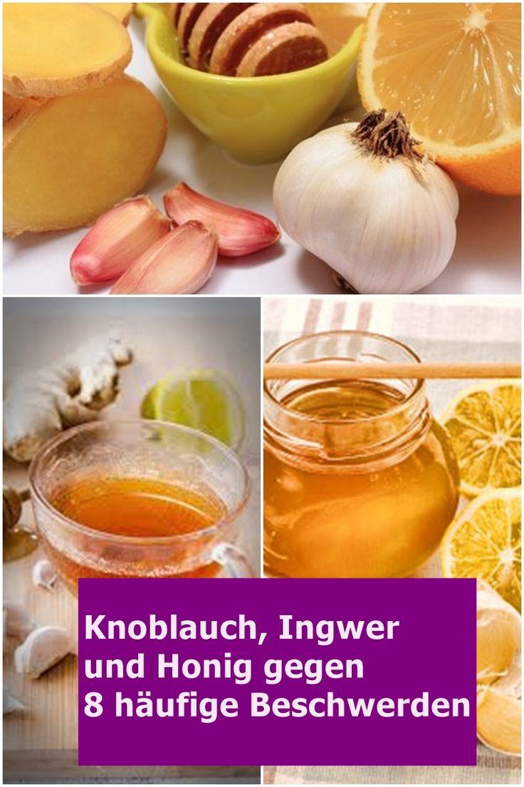 Knoblauch, Ingwer und Honig gegen 8 häufige Beschwerden | isfurano!