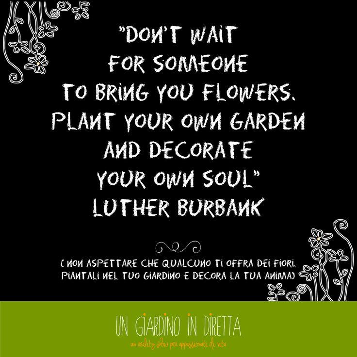 """Scarica e stampa gratis la """"to do list della settimana"""" di Un Giardino In Diretta! #citazione #todolist #giardino #scaricaestampa"""