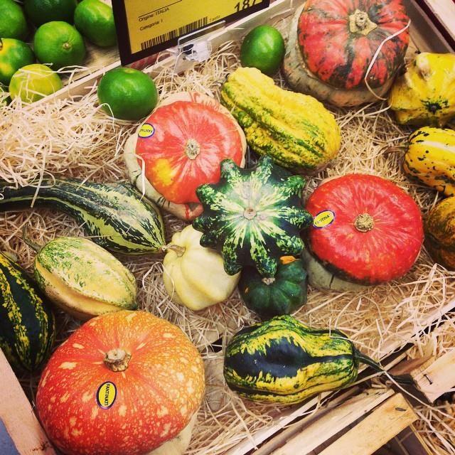 Autumn fare at Dicomano market