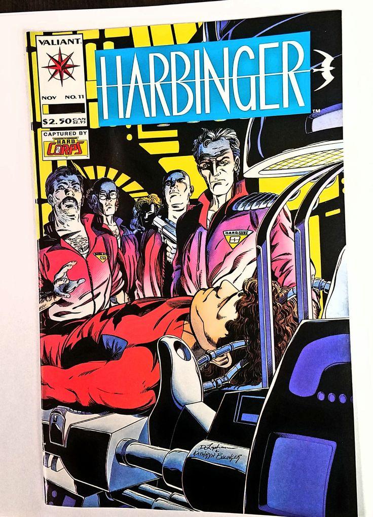 "Harbinger #11 Valiant Comics 1992 2nd App HARD Corps, ""Hard Choices"" Lapham"