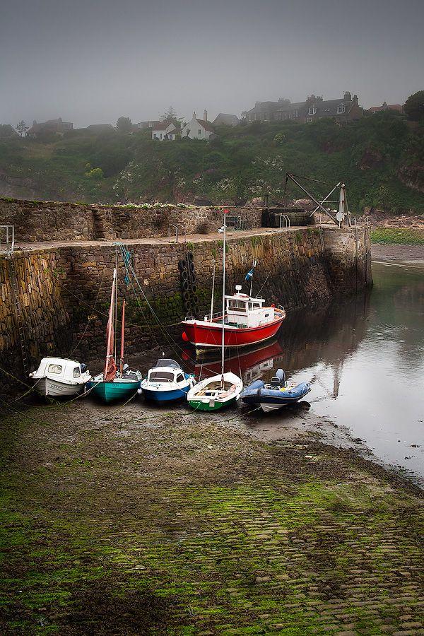 Slipway to Crail harbour