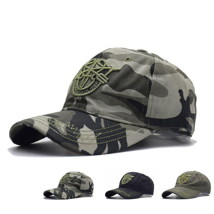 Men and Women Baseball Cap Camouflage Hat Gorras Militares Hombre Adjustable Snapbacks Caps casquette de marque #Affiliate