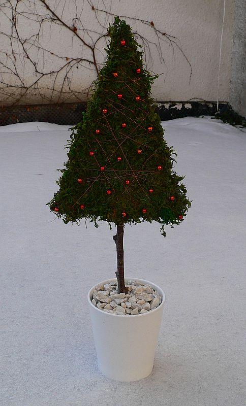 Mechový stromeček