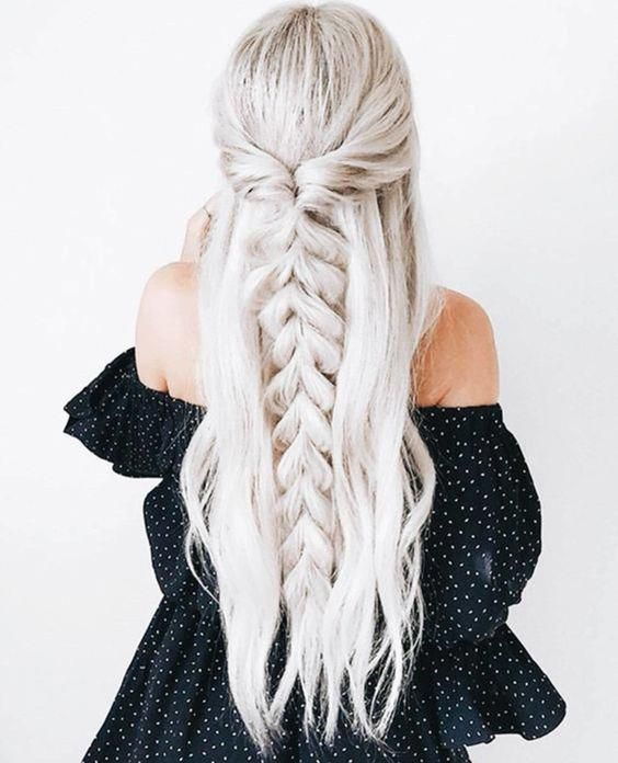 51 Amazing Braided Hairstyles for Long Hair for Every Occasion - Page 3 of 5 - Stylish Bunny #promhair