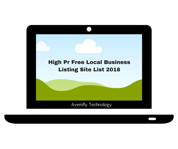 High Pr Free Local Business Listing Site List [2018] | free business #listing