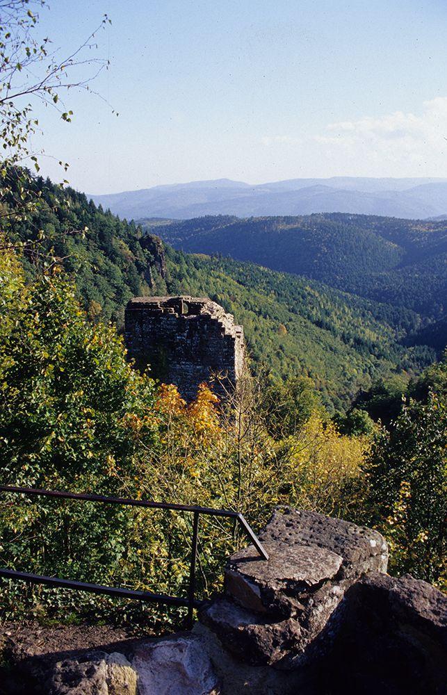 Vue sur la vallée de la Bruche.