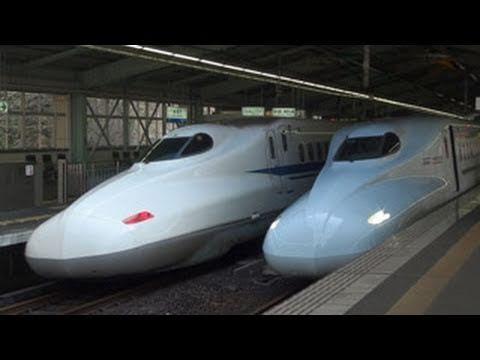 KOBE   New Shinkansen Sakura 山陽・九州新幹線N700系『さくら547号』 〜新神戸駅を出発〜