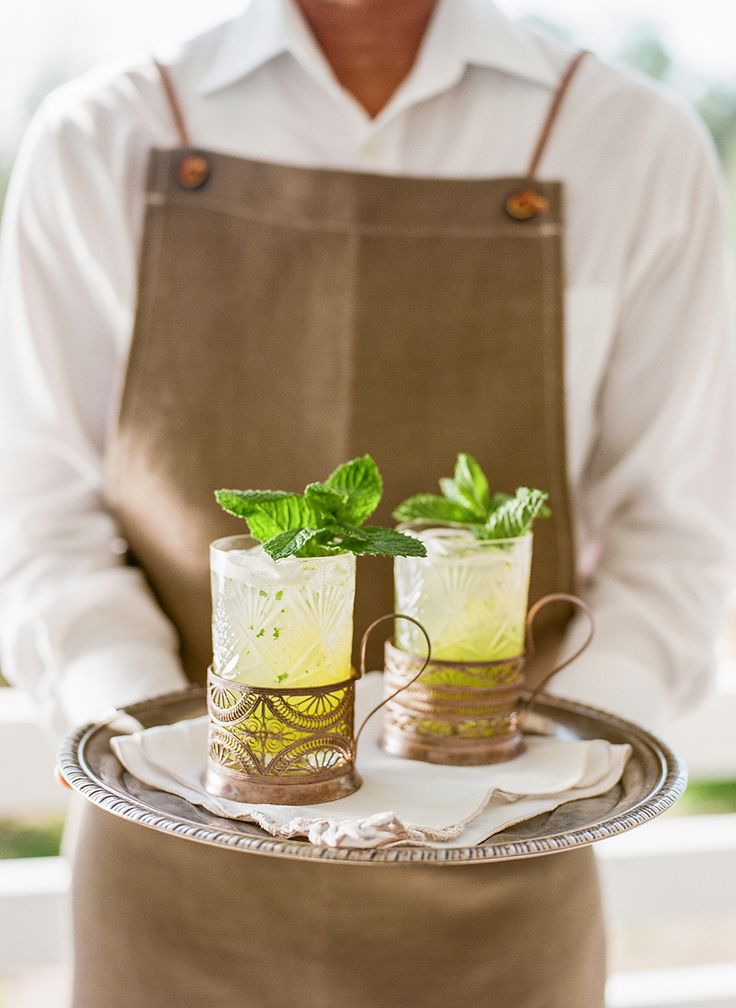 Signature Mocktail :: Tea House by Paula Le Duc Fine Catering.