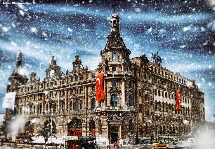Haydarpaşa Garı Snow by Prens Guz