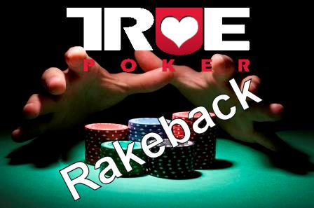 Click the image to start earning 27% rakeback with True Poker!