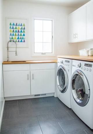 small L shaped laundry - Google Search