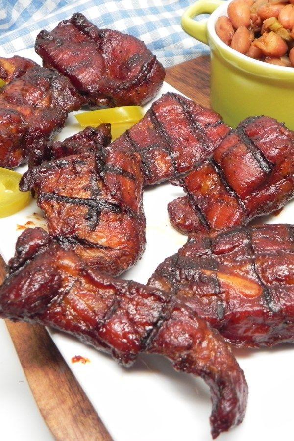 Electric Smoker Bbq Rib Tips Recipe Smoked Rib Tips Recipe Slow Cooker Pork Ribs Rib Tips