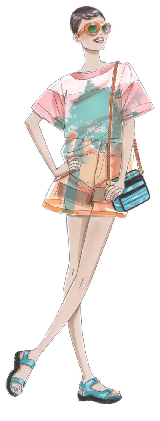 Summer / Fashion Illustration | ♦F&I♦