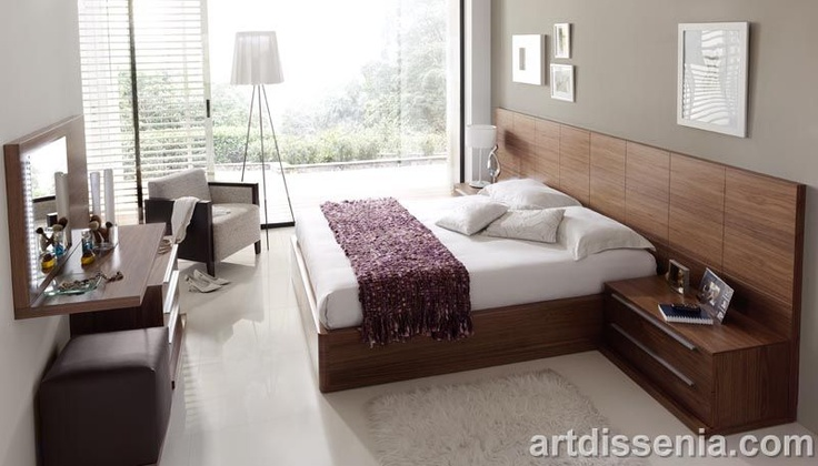 Decoracion Super Fashion: Modernos dormitorios matrimoniales