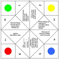 Free counseling activities (attentional control, zones of regulation, word search, etc.)