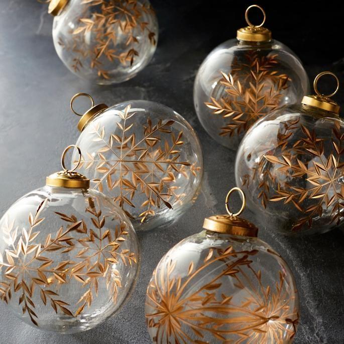 19++ Frontgate mixed metals ornaments inspirations