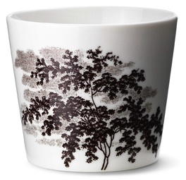'Ruth M landscape cup' in brown by Anne Black, $43