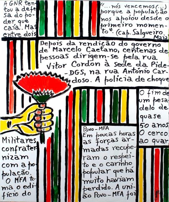 sempre! 25 de abril! Revolução dos Cravos