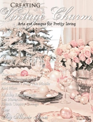 Creating Vintage Charm: Christmas Dinners, Worth Reading, Vintage Christmas, Book Worth, Vintage Wardrobe, Create Vintage, Charms Prints, Vintage Charms, Magazines Issues