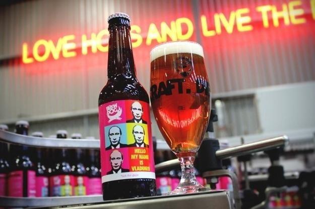 La birra anti-Putin di BrewDog