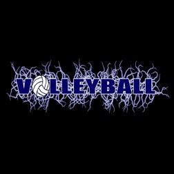 Volleyball design t shirt screen printing 1