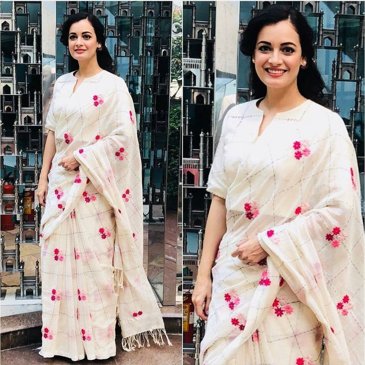 Dia Mirza in Kanelle, shop now at https://www.carmaonlineshop.com/