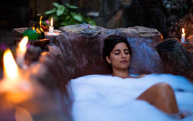 outdoor baths - Nkwichi - Africa's Best Kept Secret