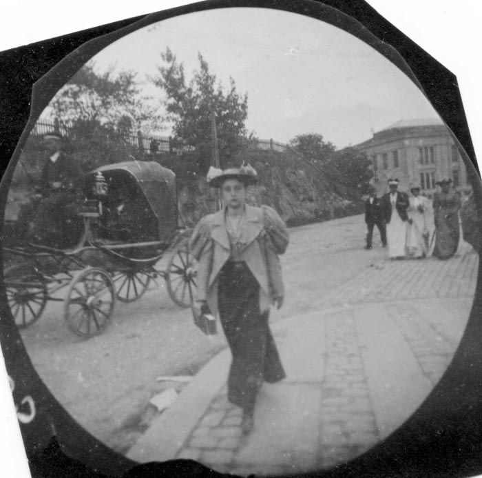 Young Student Secretly Photographs People with Hidden Spy Cam in the 1890s - 9GAG