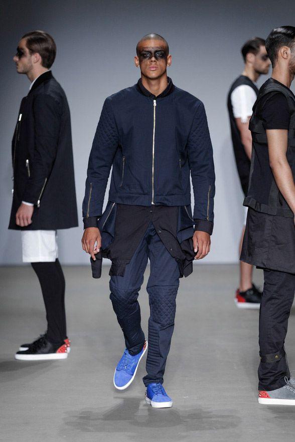 Franzel • Menswear Spring/Summer 2014 • Amsterdam Fashion Week • Fucking Young!