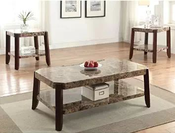 Find the best marble coffee tables for sale along with marble coffee table and marble end table sets.  A marble topped coffee table, whether rectangular or round, can be a great addition to your living room decor.  Italian marble coffee tables tend to also be a popular option.
