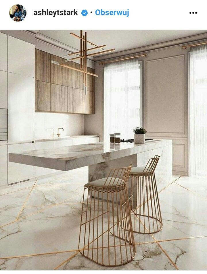 just a nice kitchen. the stools are great, a  little too crazy but maybe as an end table.