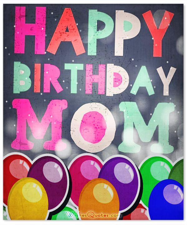25+ Best Ideas About Mother Birthday Wishes On Pinterest