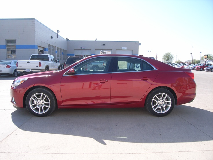 2013 Chevrolet Malibu Red Eco in Storm Lake Iowa 50588 at