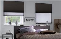 Cortinas Duette® + Blackout - Cortina doble con celdas interiores de estética refinada y exclusiva. [bedroom blinds curtains deco decoration decoración interiorismo habitación cuarto]