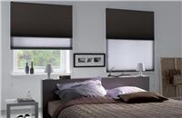 Cortinas Duette® + Blackout - Cortina doble con celdas interiores de estética refinada y exclusiva. [bedroom blinds curtains deco decoration decoración interiorismo habitación cuarto]