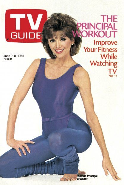 June 2-8, 1984 The Principal Workout-Improve your Fitness, While Watching TV Featured: Victoria Principal of Dallas