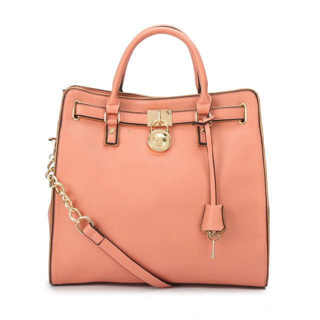 Michael Kors Hamilton Specchio Large Pink Totes Collection, the greatest discount, 70% off. #MKTimeless #NYFW